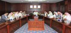 اللجنة العليا للخطة الاستراتيجية بالجامعة تعتمد أولويات تنفيذ الأهداف الاستراتيجية