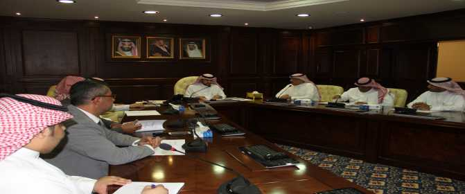 جانب من اجتماعات اللجنة الاشرافية العليا للخطة الاستراتيجية