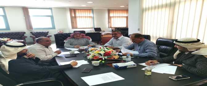 إدارة التخطيط الاستراتيجي والدراسات تبدأ اجتماعاتها