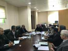 تقرير عن زيارة المكتب التنفيذي للخطة الأستراتيجية لبعض الكليات والعمادات (الأسبوع الأول )