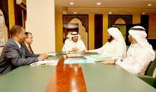 2014-11-26 لقاء أعضاء المركز بسعادة د. ناصر بن حماد الجعيدي