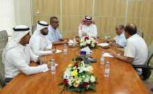 إدارة التخطيط الاستراتيجي والدراسات تعقد اجتماعها الأول